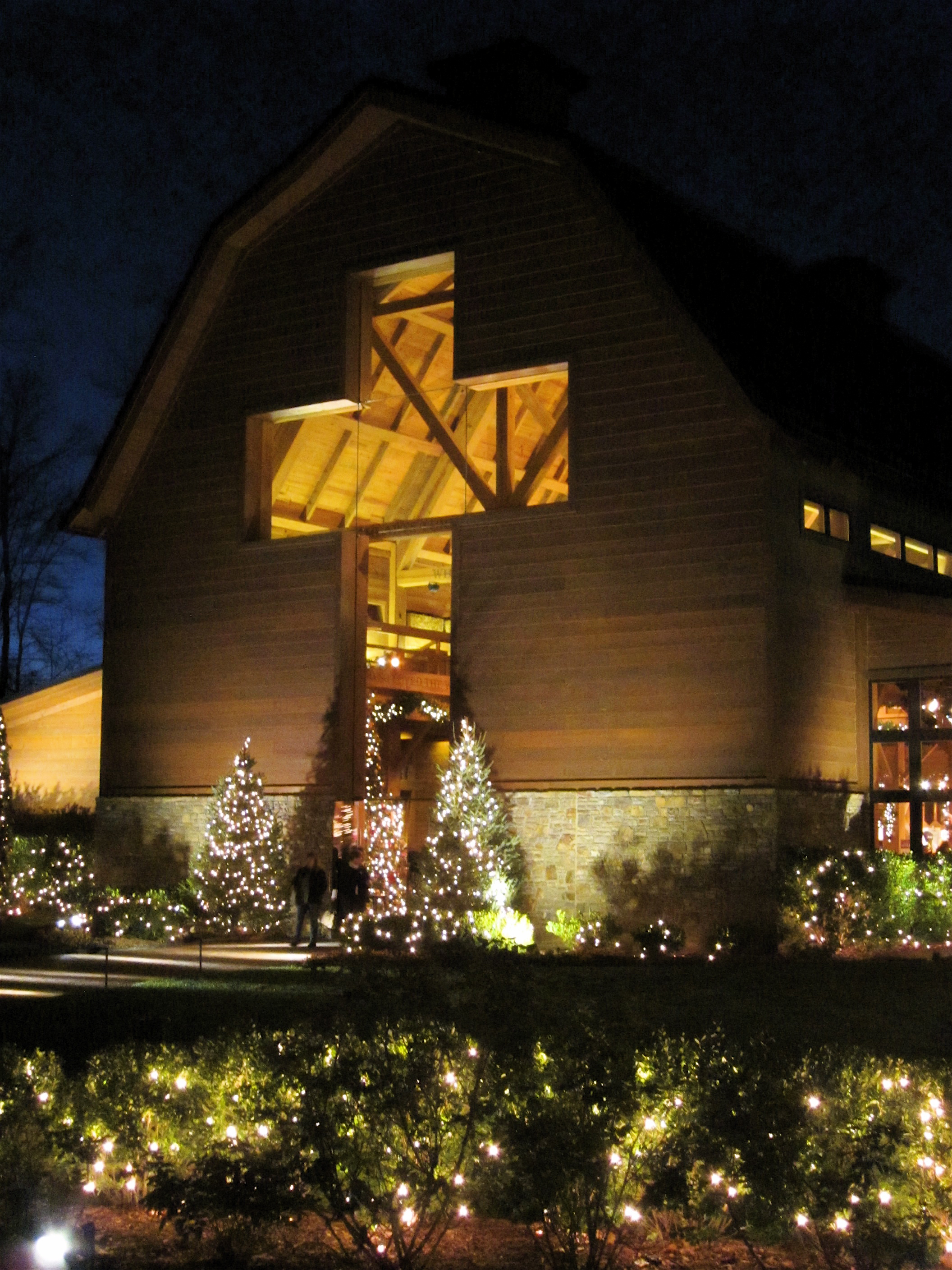 Billy Graham Library Christmas Cross
