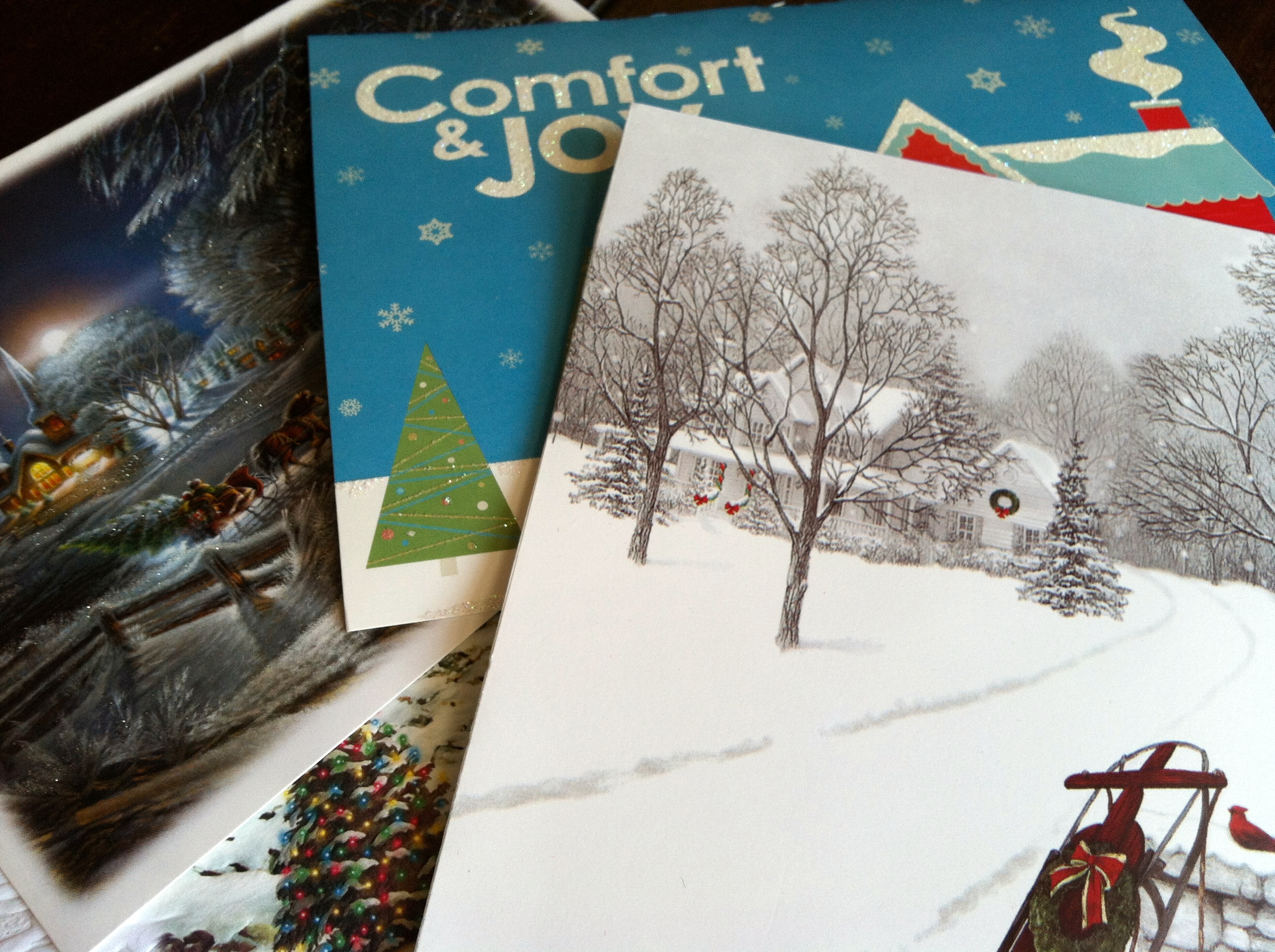 Holiday Cards in need of new life