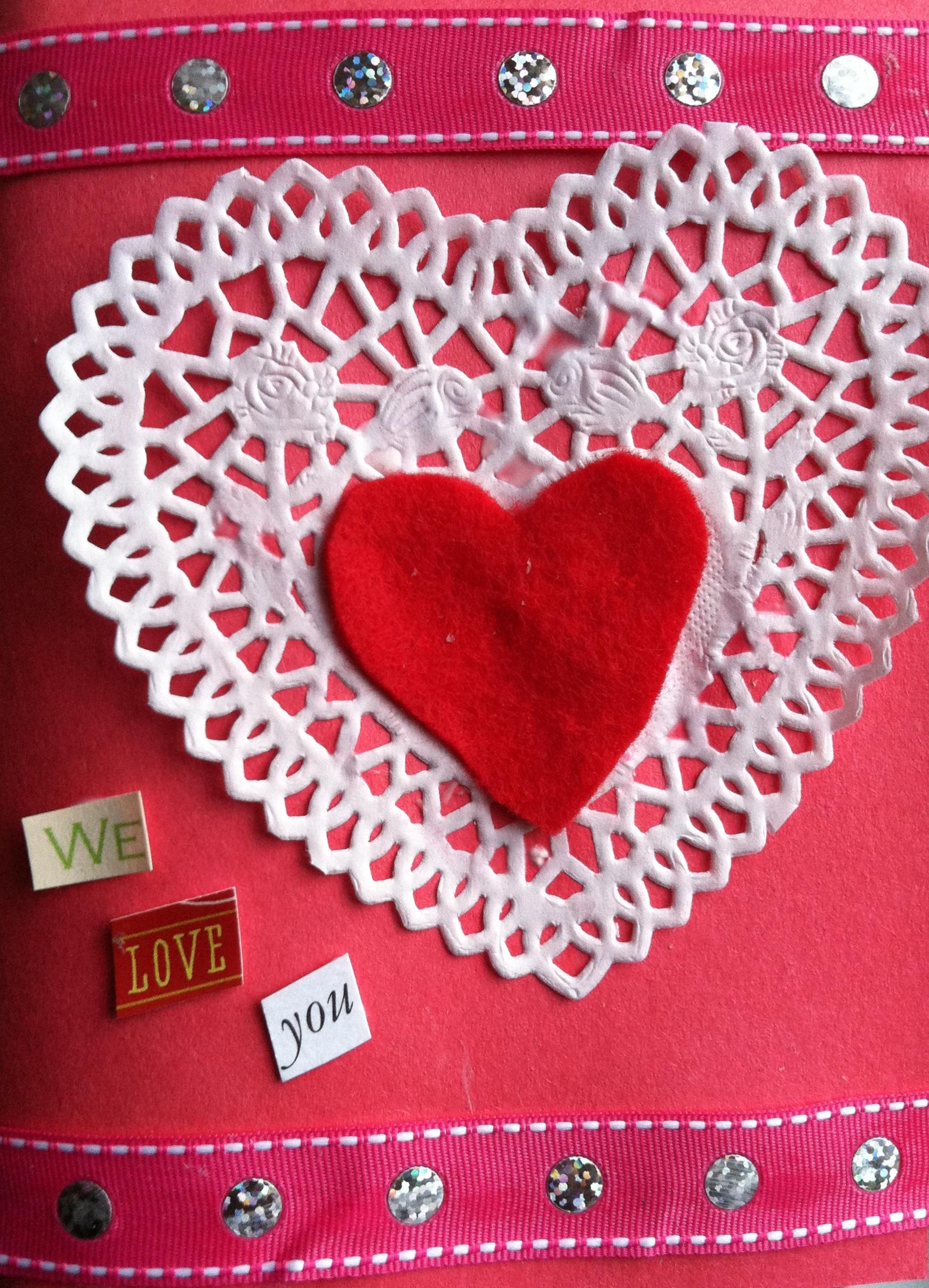 Upcycled Valentine