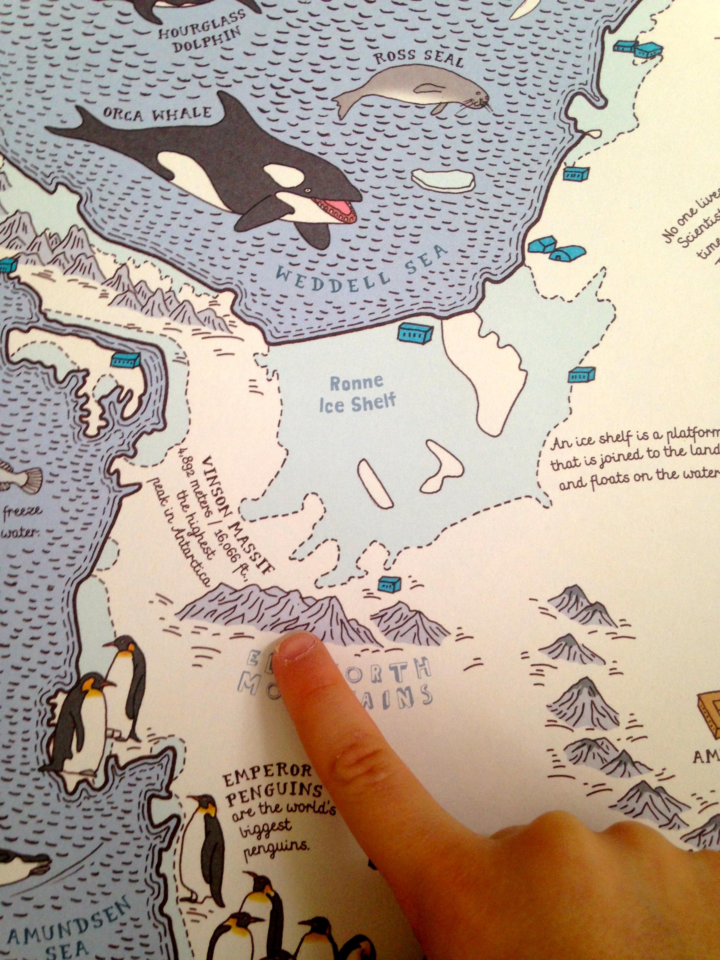 Antarctica close-up
