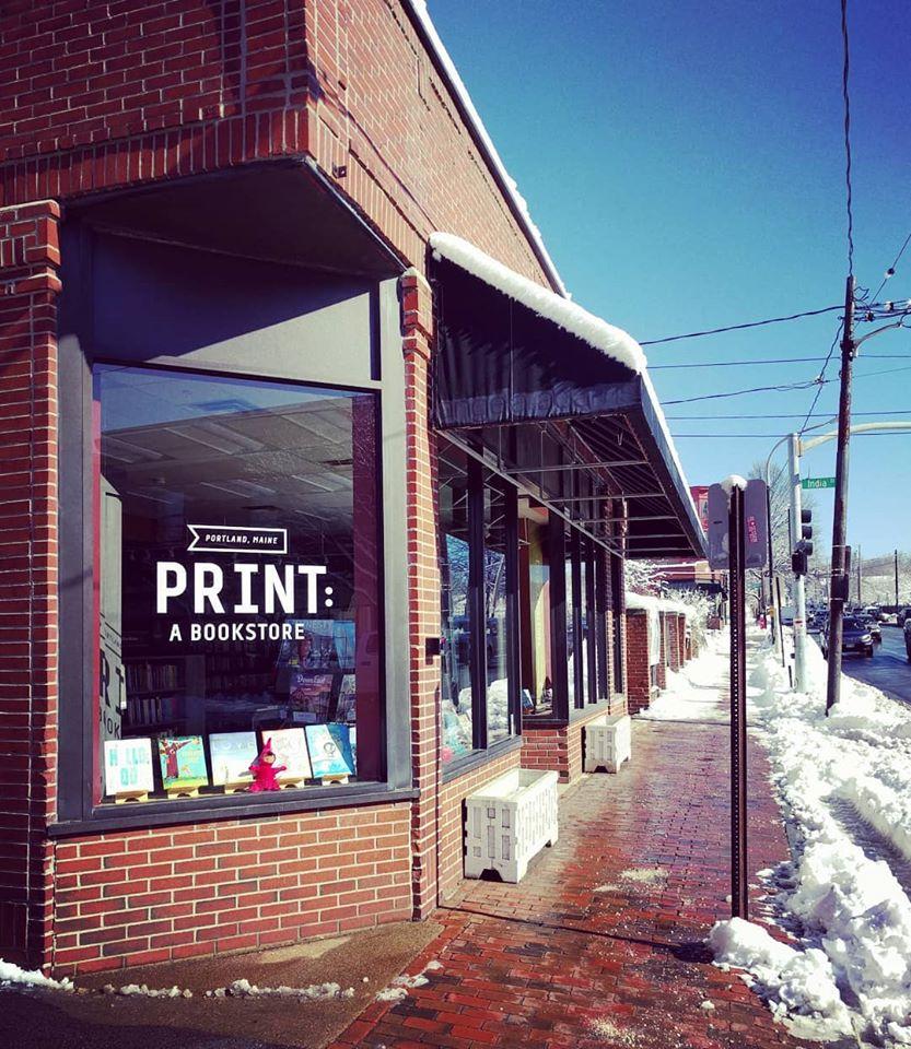 Print: A Bookstore, Portland, Maine