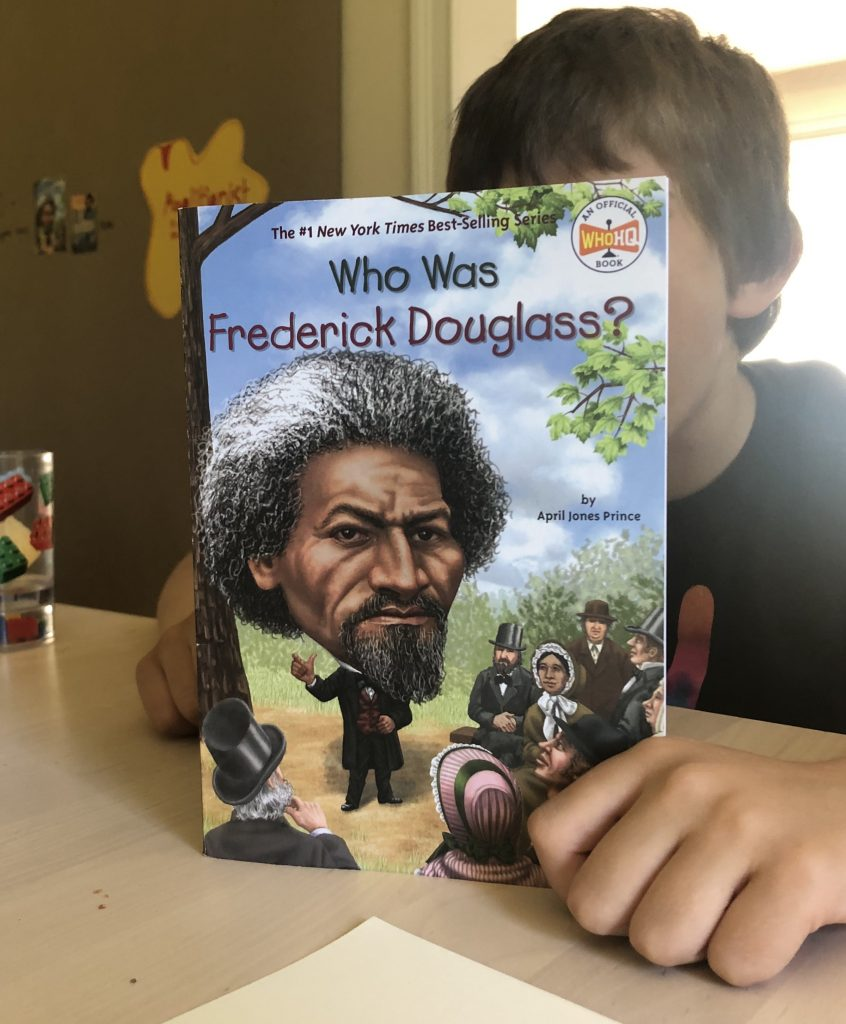 Chapter Book Biography on Frederick Douglass