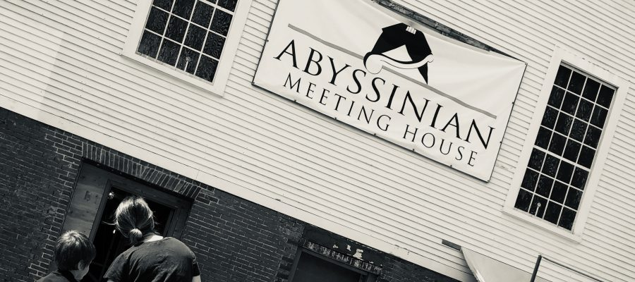 The Abyssinian Meeting Hall Portland Maine