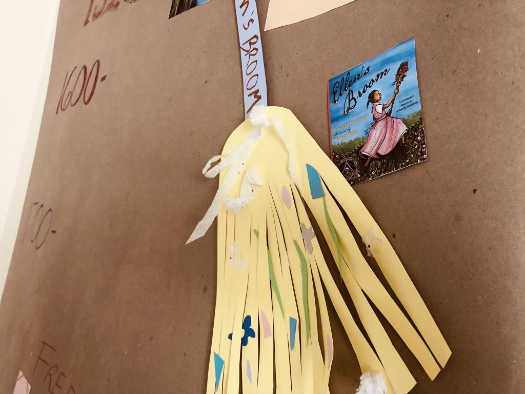 Jumping the Broom Craft